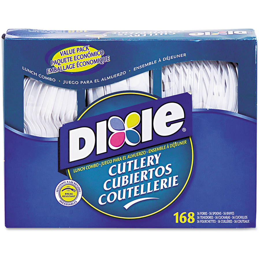 Dixie Heavy-Duty Combo Pack, 168 ct