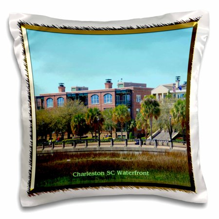 3dRose Charleston SC Waterfront - Pillow Case, 16 by 16-inch](Halloween Parties Charleston Sc)