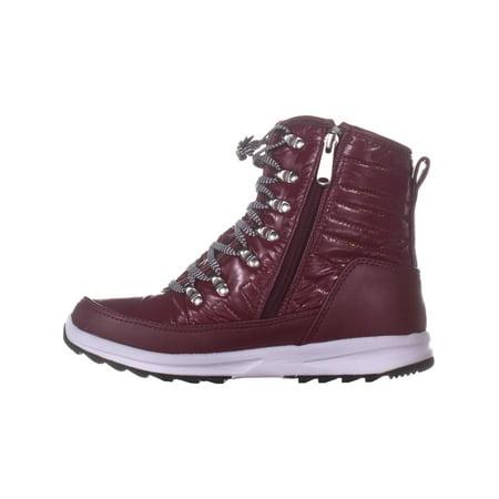 Khombu Elsa Winter Ankle Boots, Zinfandel - image 4 de 6