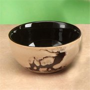 Unison Gifts TCD-852 Elk Bowl - 5.5 in.