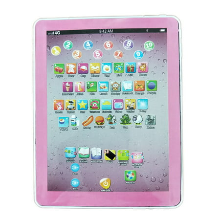 - Tablet Pad Computer for Kid Children Learning English Educational Teach Toy Gift