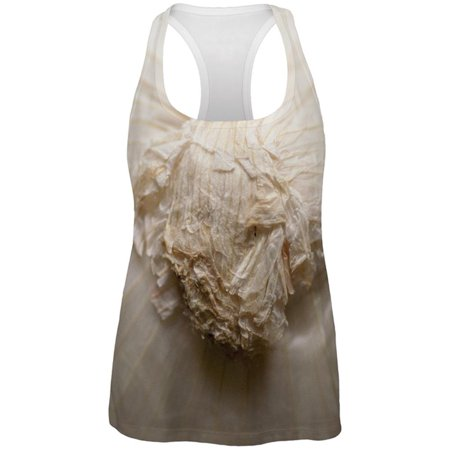 Halloween White Onion Costume All Over Womens Work Out Tank Top (Top 10 Halloween Films All Time)