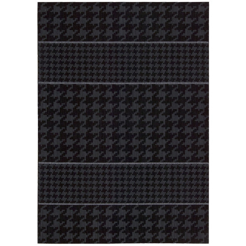 Joseph Abboud Griffith Charcoal Black/Grey Geometric Area Rug