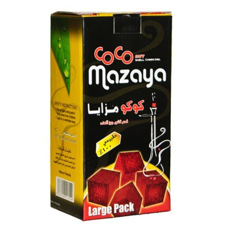 Authentic Coco Nara Mazaya 96 Hookah Coconut (Best Coco Hookah Coals)
