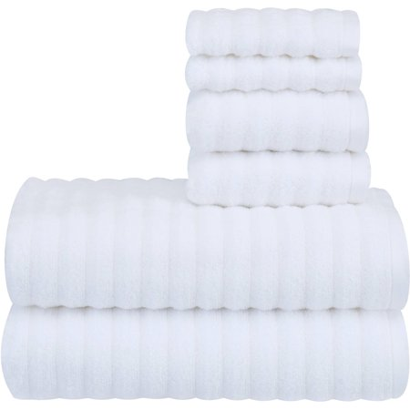 Mainstays Textured Performance Towel 6 Piece Set as low as $5.74