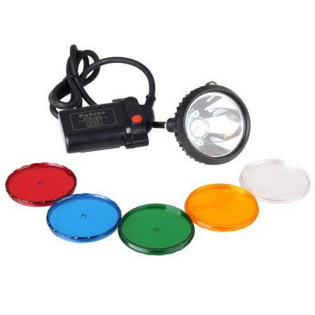 Kohree 800Lumens Waterproof IP65 CREE XML U2 10W LED 2-Mode Hunting Light Headlamp 6600mAh Mining Headlight Lamp for Hog, Coon, Coyote, Fox