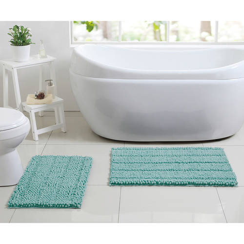 Better Homes and Gardens Chenille Noodle 2-Piece Bath Rug Set