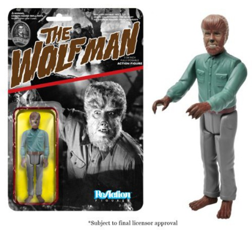 FUNKO REACTION: UNIVERSAL MONSTERS - WOLFMAN