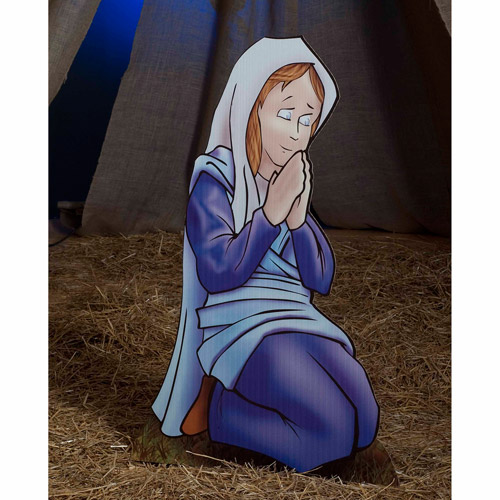 Mary Nativity Standee