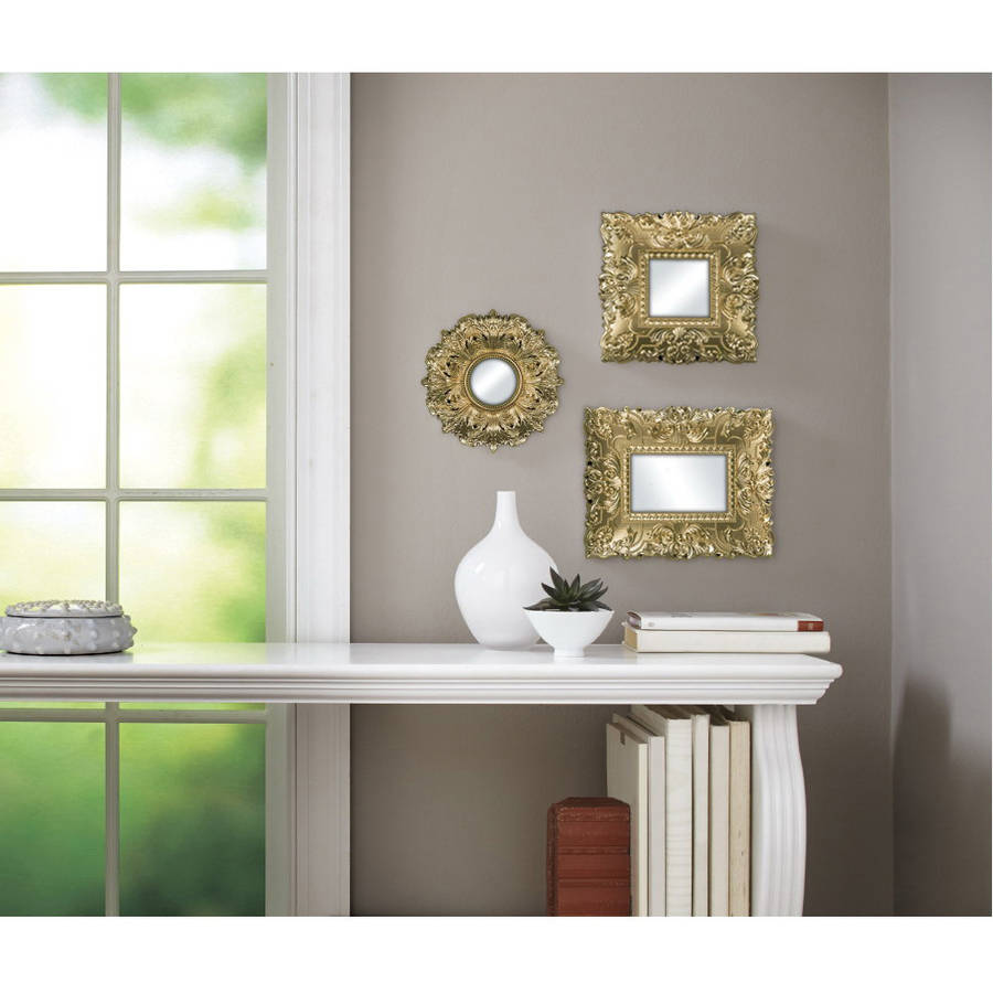 Better Homes and Gardens Baroque Mirrors Set of 3
