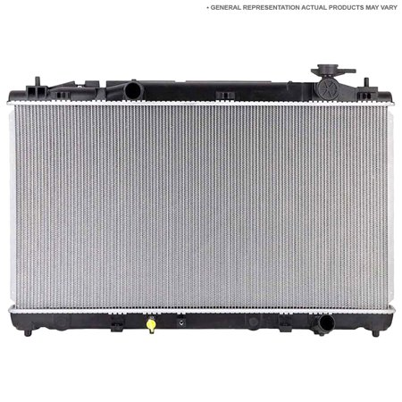 2001 Ford Ranger Radiator - New Radiator For Ford Escape & Mazda Tribute 4-Cyl 2001 2002 2003 2004