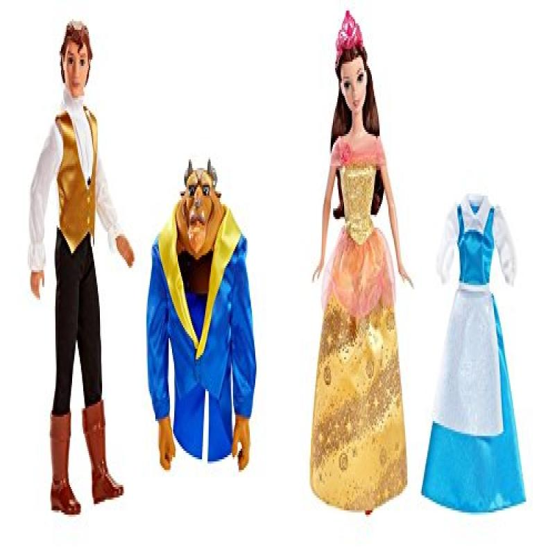 Disney Beauty and the Beast Transforming Gift Set by Mattel