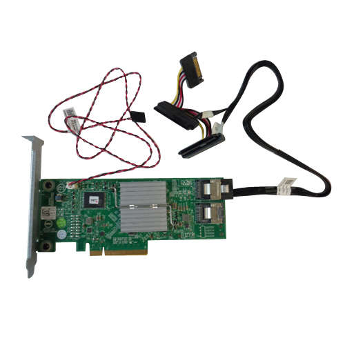 Dell Perc H310 PowerEdge Server Integrated Raid Controller Card w/ Cables HV52W