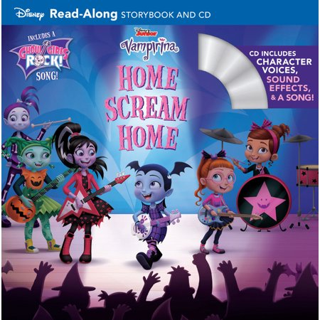 Vampirina Home Scream Home : Read-Along Storybook and CD - Storybook Characters For Kids