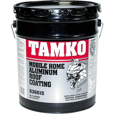 tamko fibered aluminum mobile home roof coating - Mobile Home Roof Coating