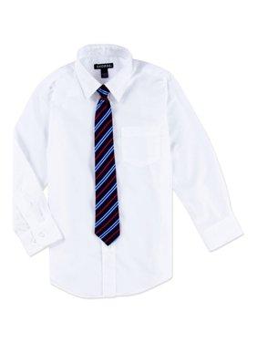 96b30b96ba6a Product Image George Boys Packaged Dress Shirt-Tie Husky