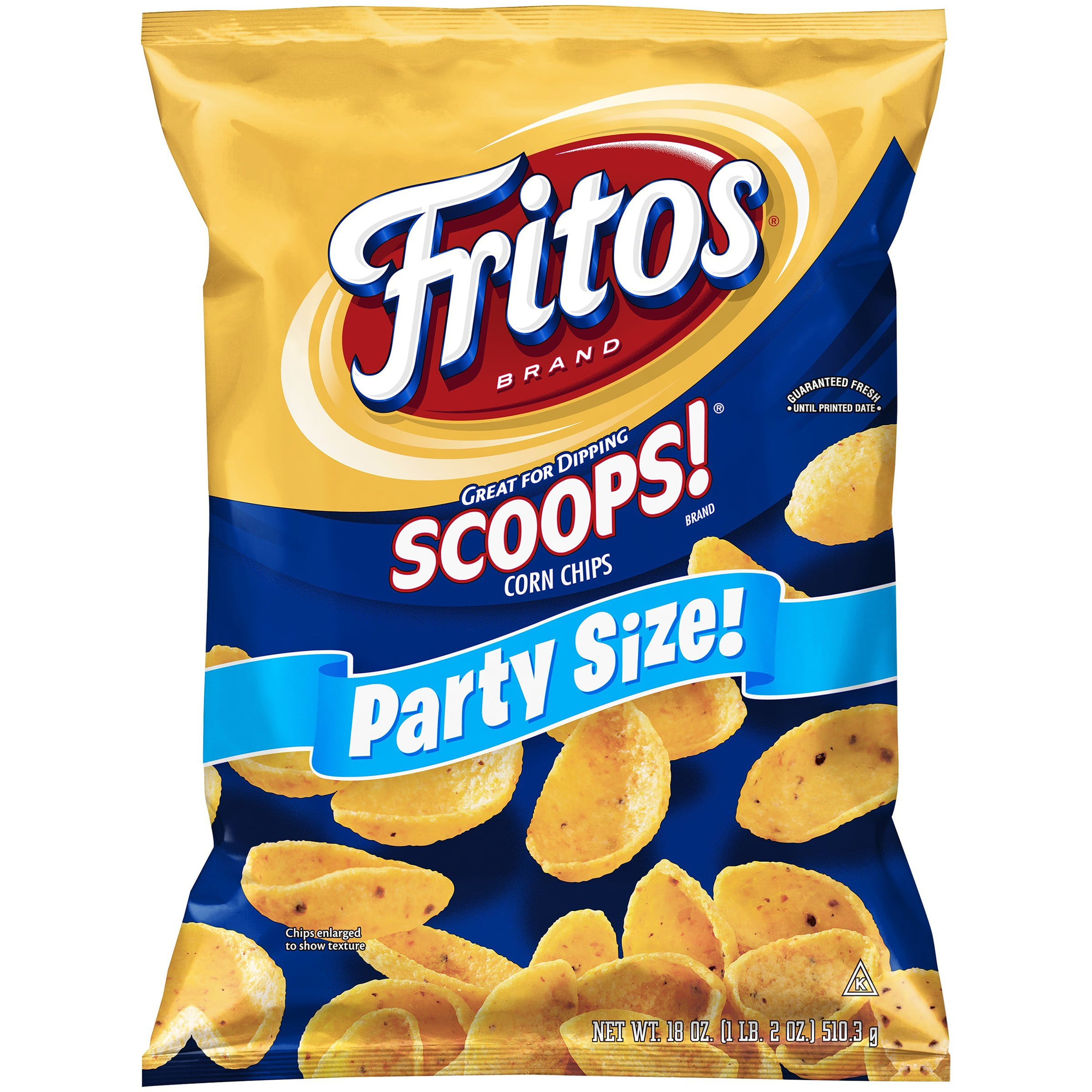 Fritos® Scoops!® Corn Chips, 18 oz. Bag