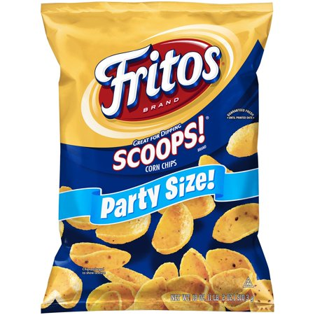 Fritos Scoops! Party Size Corn Chips, 18 Oz. (Corn Chips Korean)