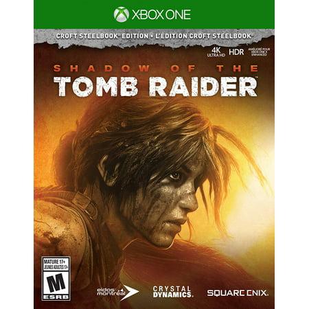 Shadow of Tomb Raider Croft Edition Steelbook, Square Enix, Xbox One, - Tomb Raider Costumes