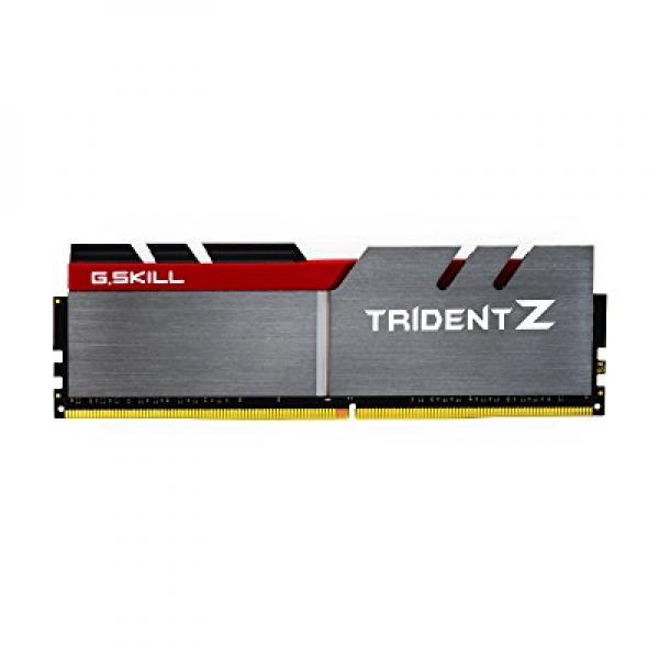 G.SKILL 8GB (2 x 4GB) TridentZ Series DDR4 PC4-25600 3200MHz for Intel Z170 Platform Desktop Memory Model F4-3200C16D-8GTZ