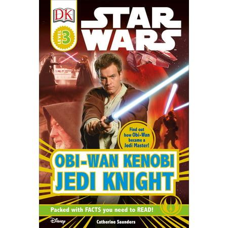 DK Readers L3: Star Wars: Obi-Wan Kenobi, Jedi Knight : Find Out How Obi-Wan Became a Jedi Master!
