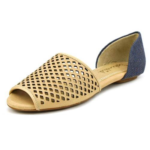Splendid C205-7073 Women US 6 Tan Peep Toe Flats