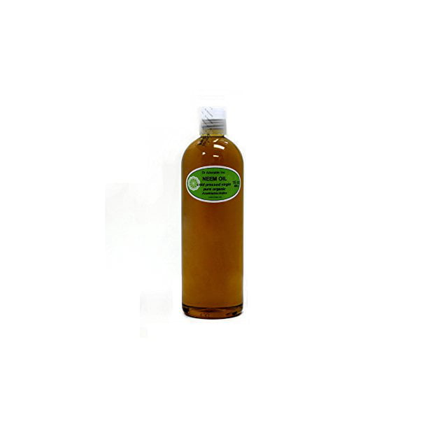 Dr. Adorable - 100% Pure Neem Oil Organic Unrefined Cold Pressed Natural - 16 oz
