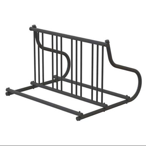 "48"" Double Sided Bike Rack, Black ,Madrax, GR110-B"