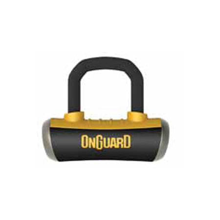 OnGuard 8048C Boxer Disc Lock with Pouch & Reminder (Onguard Locks Boxer)