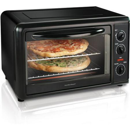 Hamilton Beach Black Countertop Oven with Convection & Rotisserie, Model# 31101D