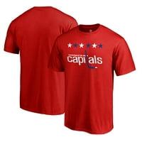 Washington Capitals Fanatics Branded Team Alternate T-Shirt - Red