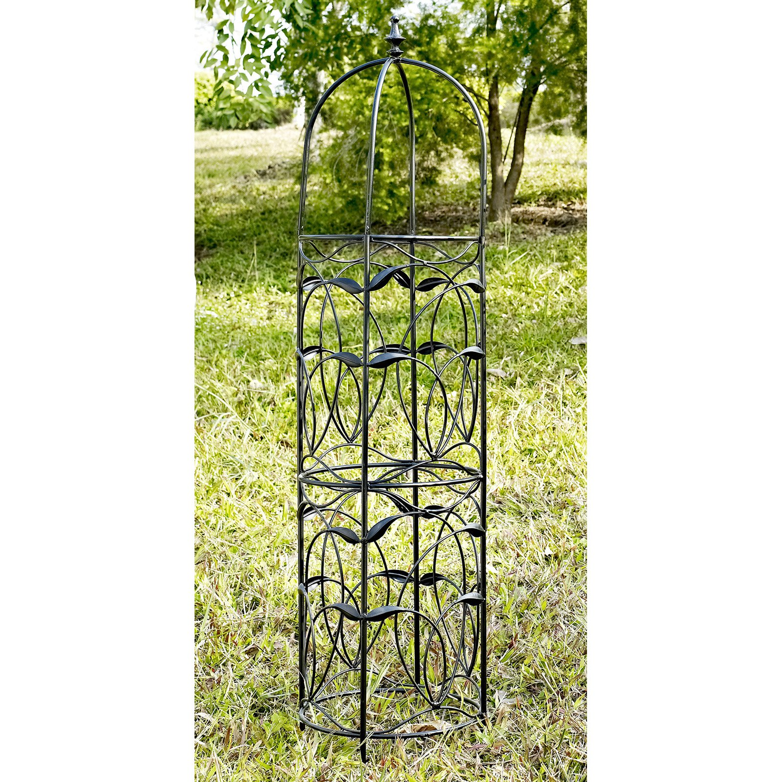 Coral Coast Willow Creek Metal Obelisk by