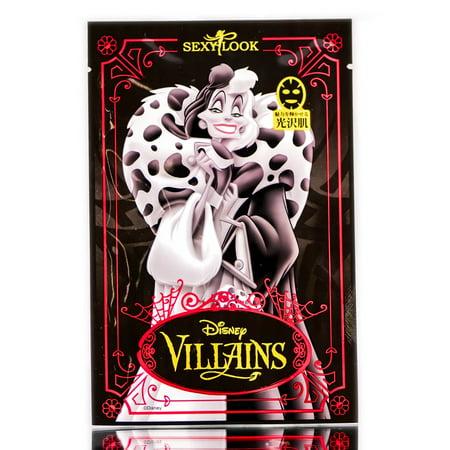 Sexy Look Disney Villains Cruella Black Mask - Option: 1 pc - Cruella Deville Accessories Pack