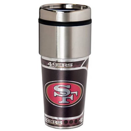 NFL San Francisco 49ers Stainless Steel Tumbler by