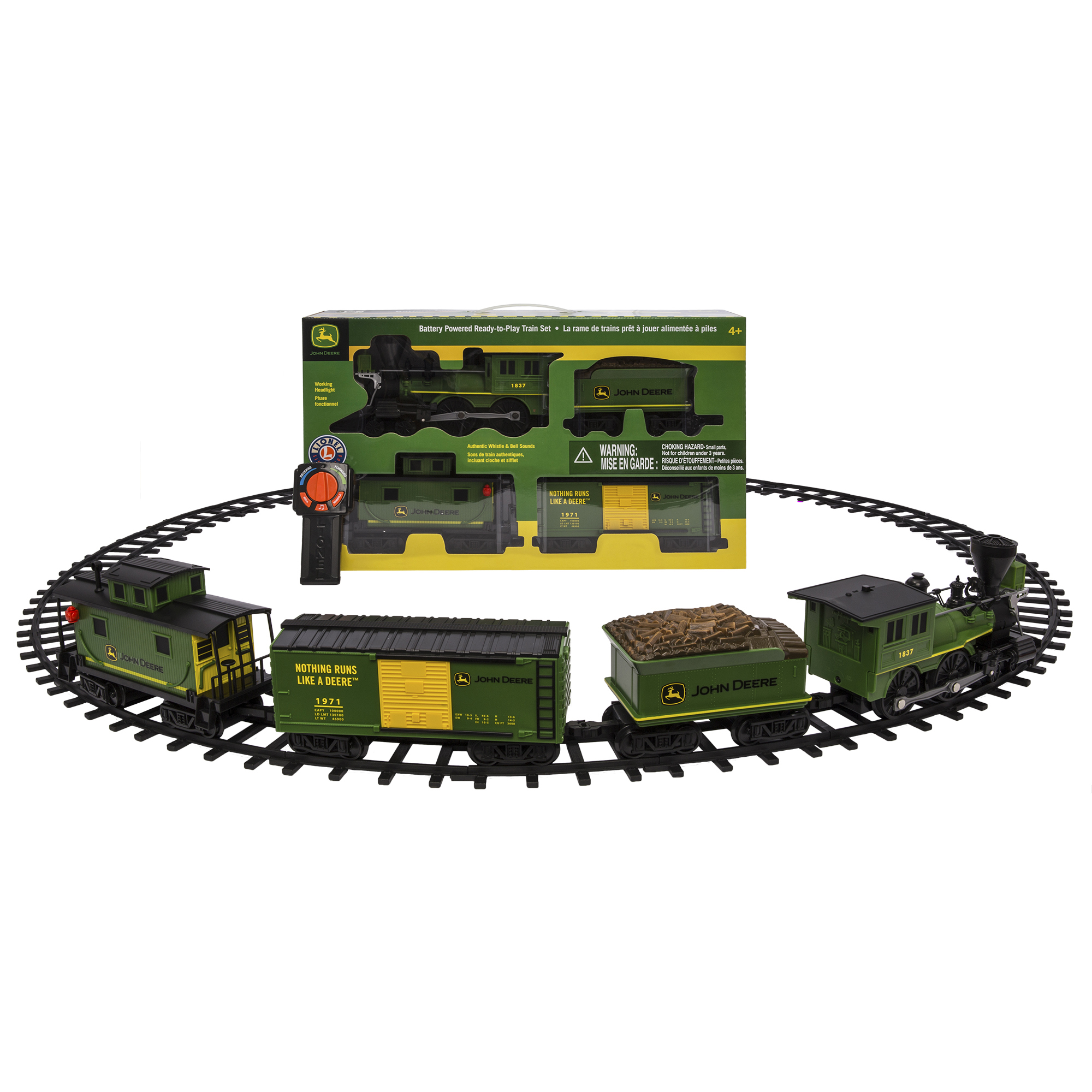 Lionel Trains John Deere Seasonal Ready to Play Set