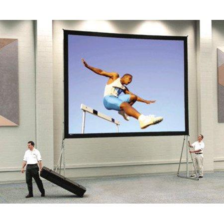Da-Tex Fast Fold Heavy Duty Deluxe Complete Rear Projection Screen - 6' x 8' Size: 7'6