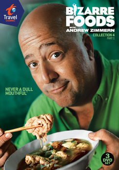 Bizarre Foods: Collection 4, Part 1 (DVD) by TRAVEL CHANNEL