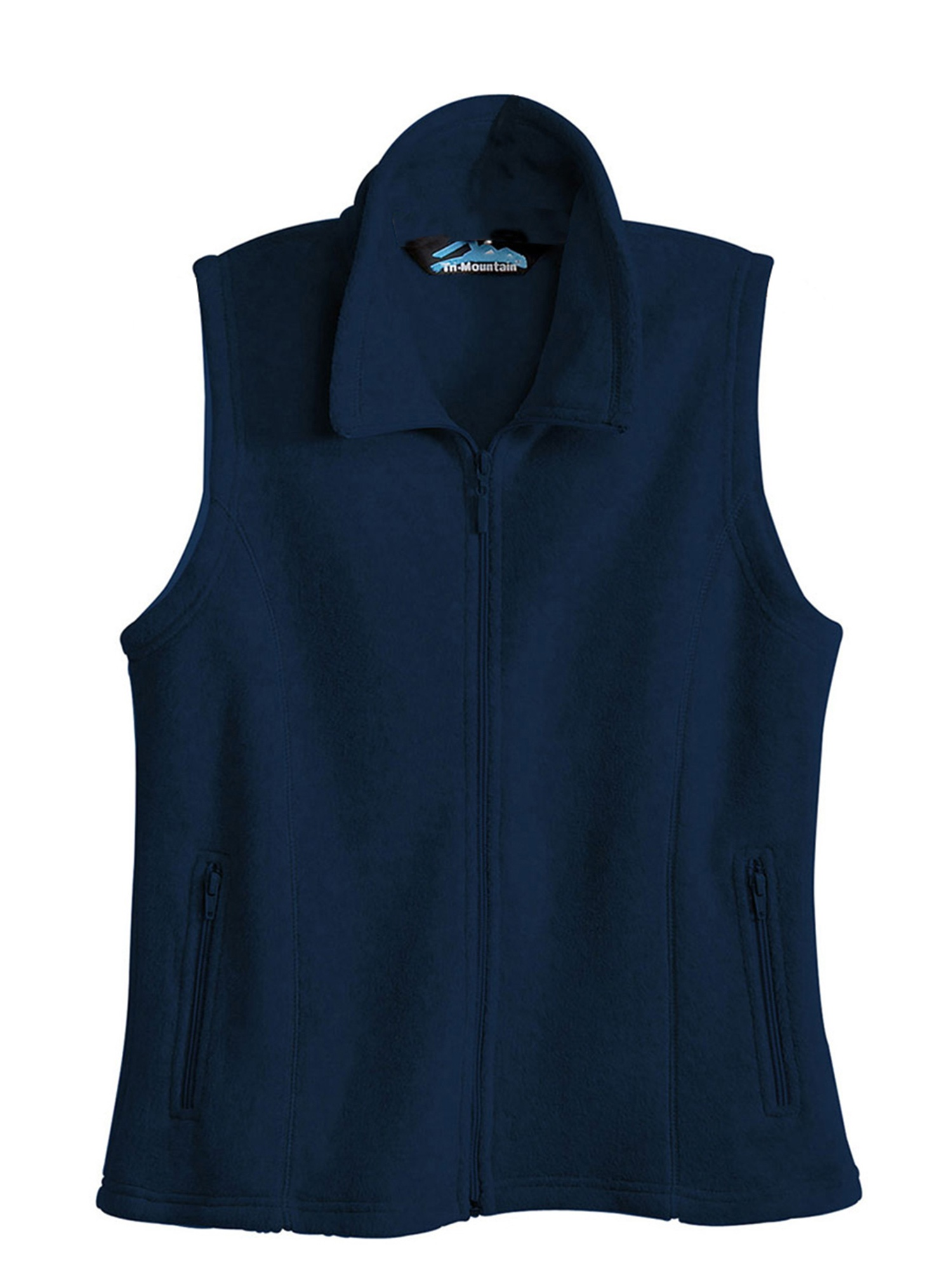 Tri-Mountain Women's Tailored Fit Fashion Fleece Vest