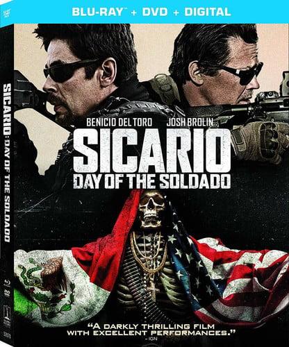 Sicario: Day of the Soldado (Blu-ray + DVD + Digital Copy)