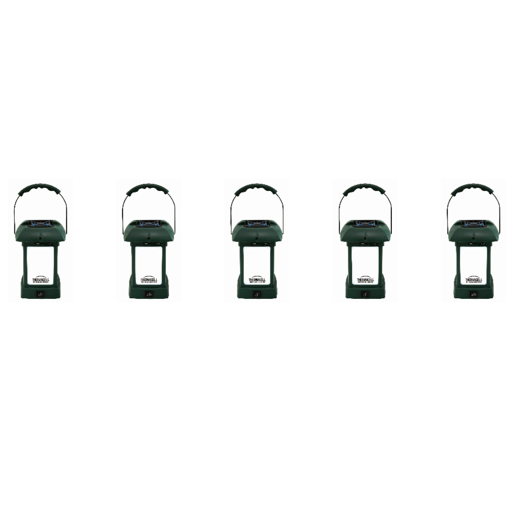 ThermaCELLMR-9L OutdoorMosquitoRepeller plusLantern (5-Pack) by Thermacell