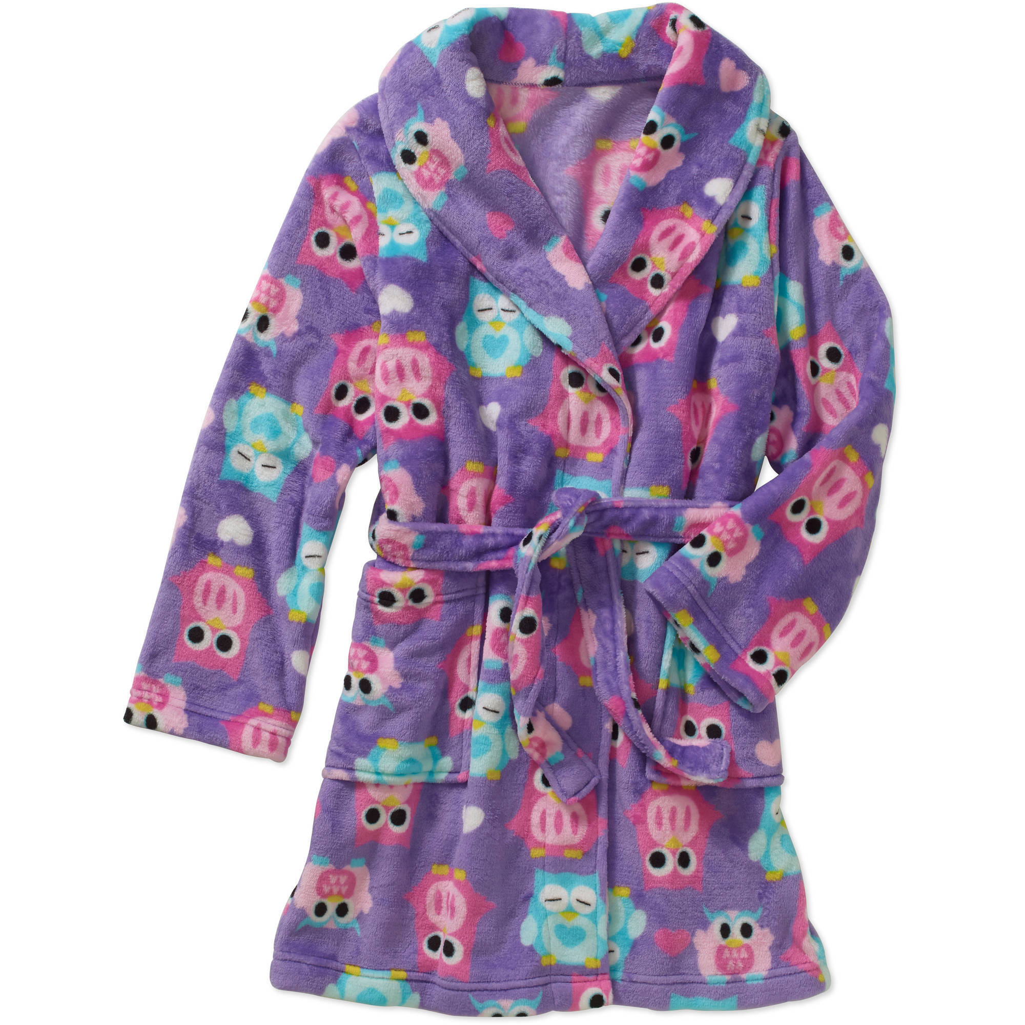 Girls' Generic Plush Robe