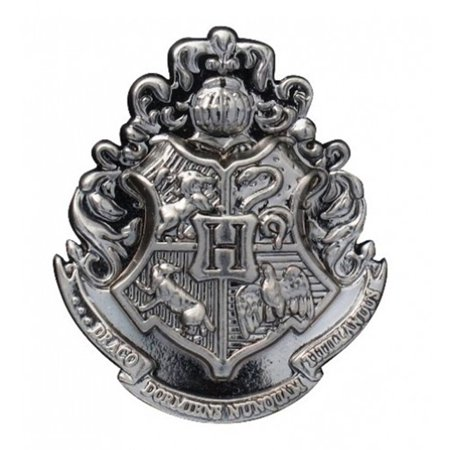 Disney Harry Potter Hogwarts School Crest Pewter Lapel - Halloween Disney Pins