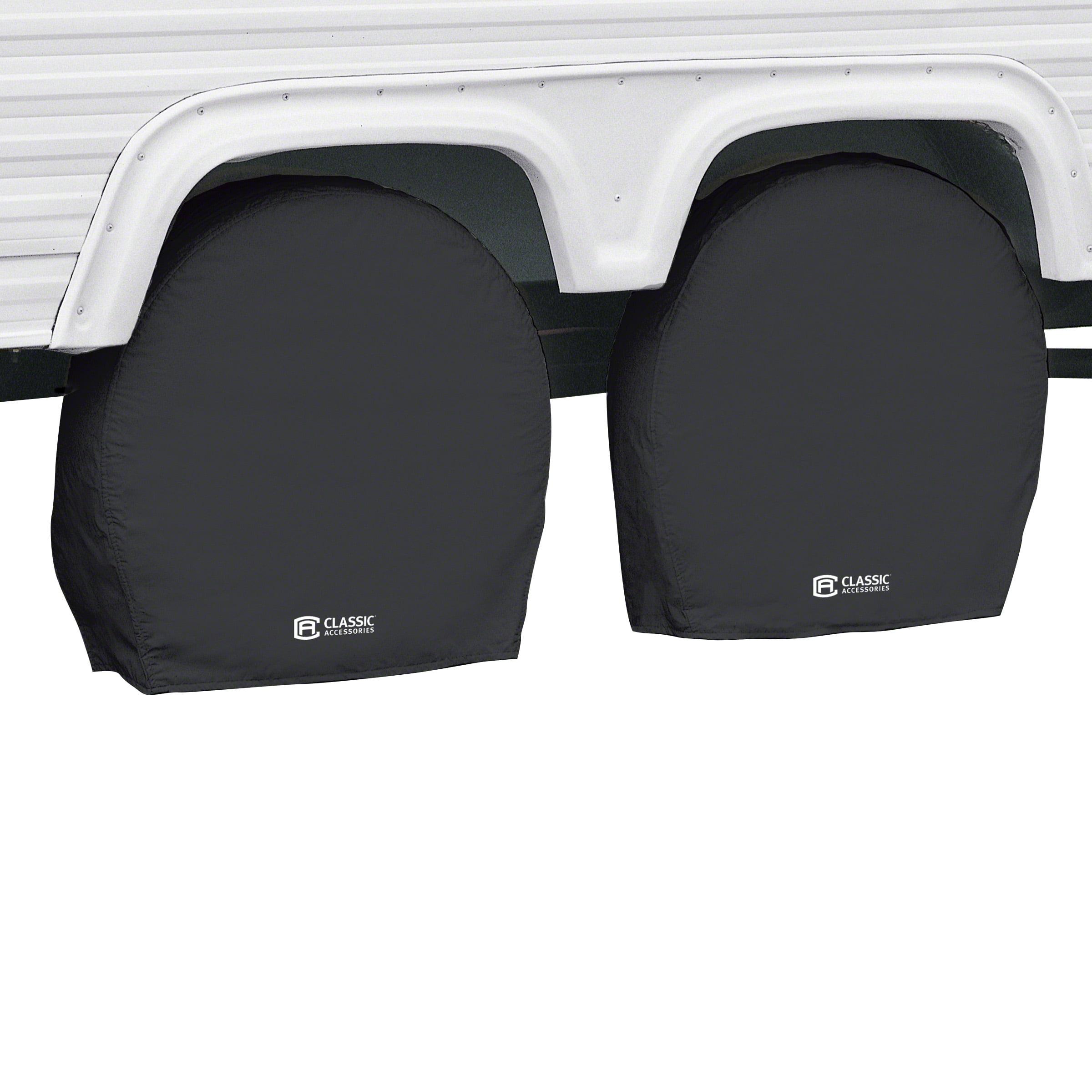 "Classic Accessories OverDrive RV Wheel Covers (2-pack), Black, Choose Wheel Diameter 18"" - 41"""