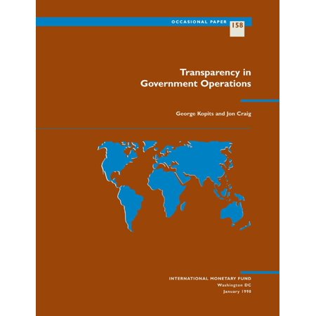 Transparency in Government Operations - eBook (Civics Government And Economics In Action Teacher Edition)