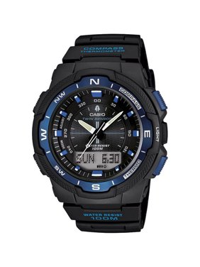 Casio Men's Classic Twin Sensor Thermometer Compass Watches SGW500H