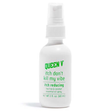 Queen V Itch Dont Kill My Vibe Itch-Reducing Essential Oil Spray 2 Oz (Feminine Owl)