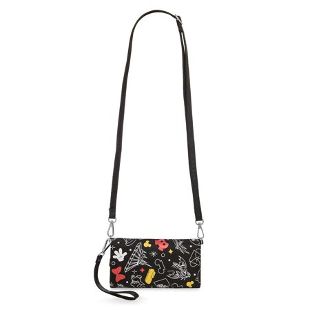 Disney Parks Icons Mickey and Minnie Wristlet Bag New with