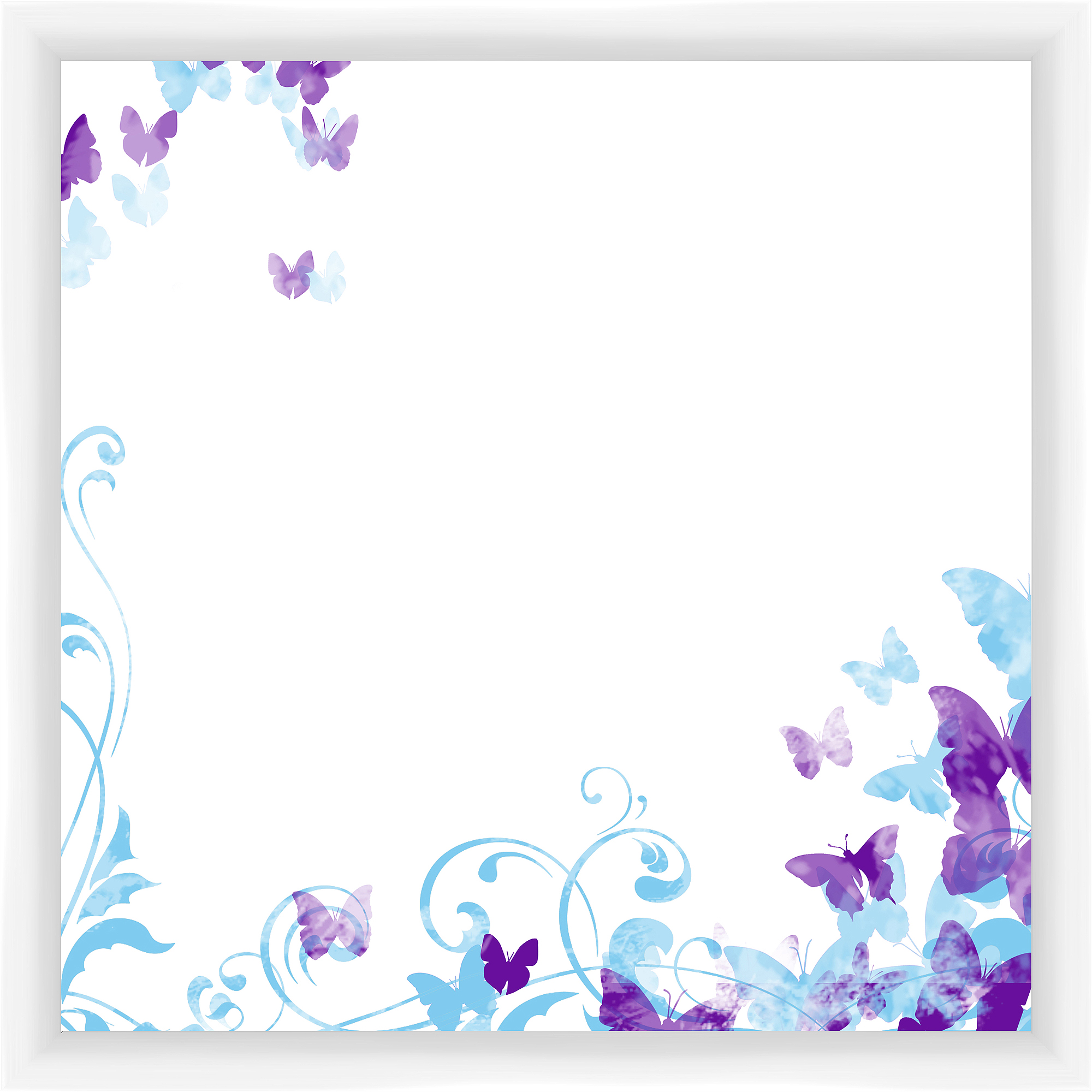 Butterfly White Memoboard