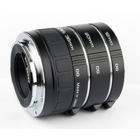 Kenko Auto Extension Tube Set DG  (12-20-36mm) for Canon EOS Lenses A-EXTUBEDG-C