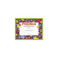 """Trend Preschool Certificate - 8.50"""" X 11"""" - Assorted (t17006)"""